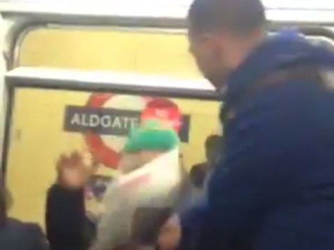 Police appeal after Tube train fight leaves one man in need of hospital treatment