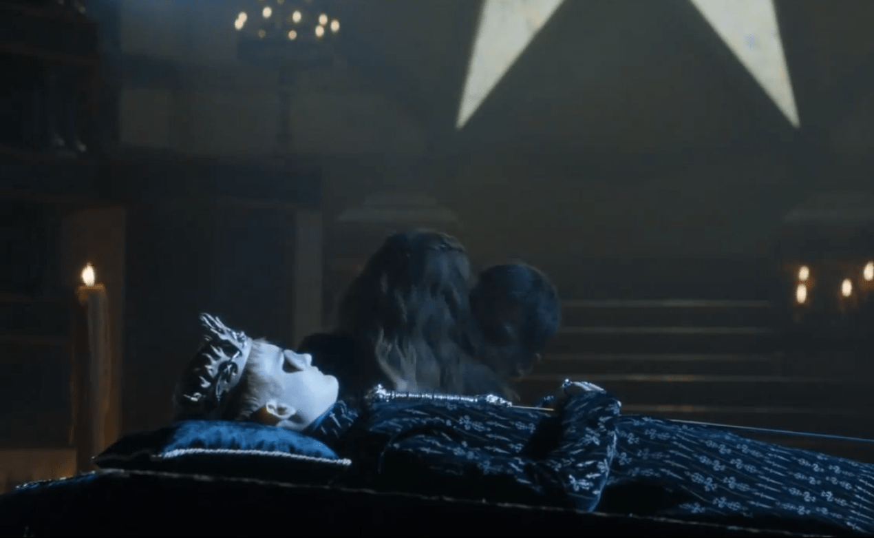 Game Of Thrones sex scene - Jaime, Cersei and Joffrey Lannister