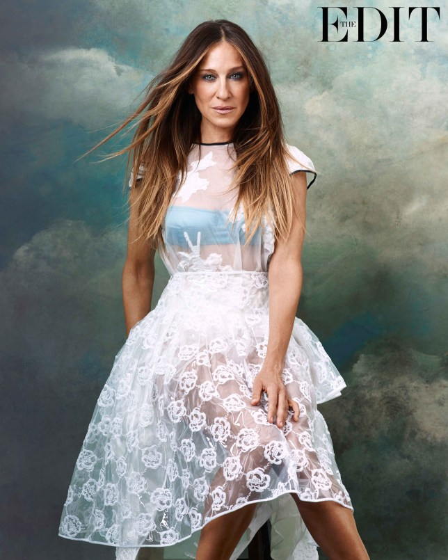 Top by Erdem; bra by Dolce & Gabbana; skirt by Simone Rocha (Picture: Bjorn Iooss/www.net-a-porter.com)