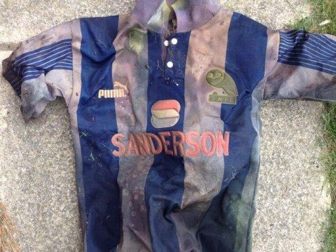 Sheffield Wednesday fan finds lost shirt in unlikely place after 18 years