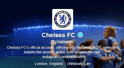 Chelsea and PSG official Twitter accounts exchange a bit of pre-match banter