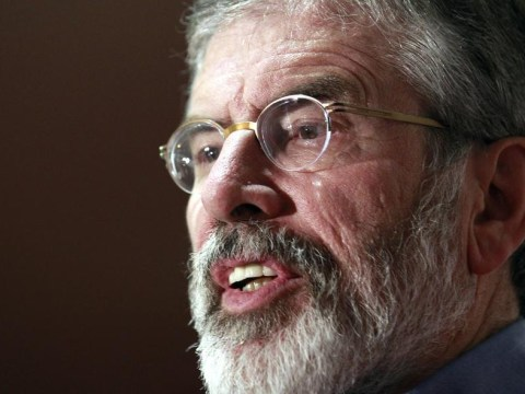 Sinn Féin's Gerry Adams is quizzed over 1972 murder