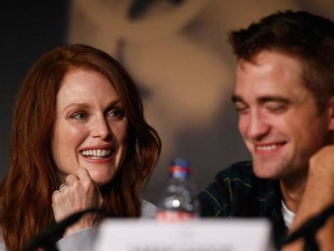 Robert Pattinson: Car sex with Julianne Moore was so 'sweaty'