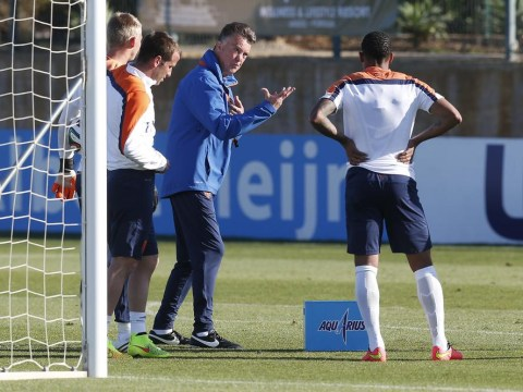 Robin van Persie on Louis van Gaal: Four things that Manchester United players can expect in training