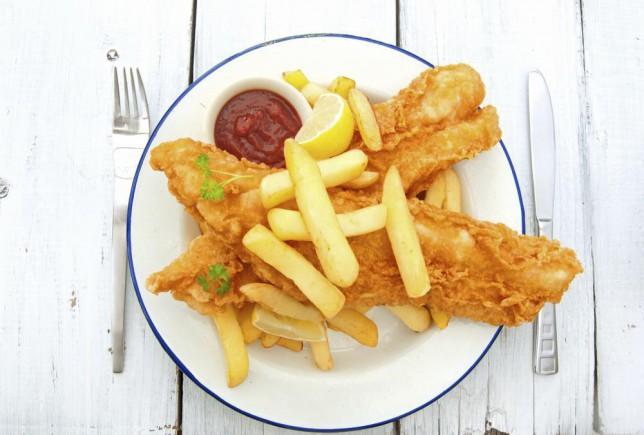 Traditional english fish and chips takeaway meal CharlieAJA/CharlieAJA