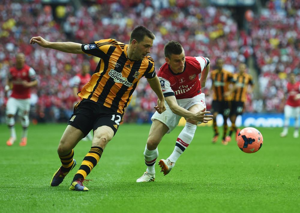 Arsenal 'get away with murder' as Laurent Koscielny equalises in the FA Cup final