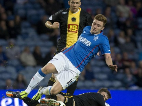 Rangers' young guns may not get a chance to fire side into the top flight