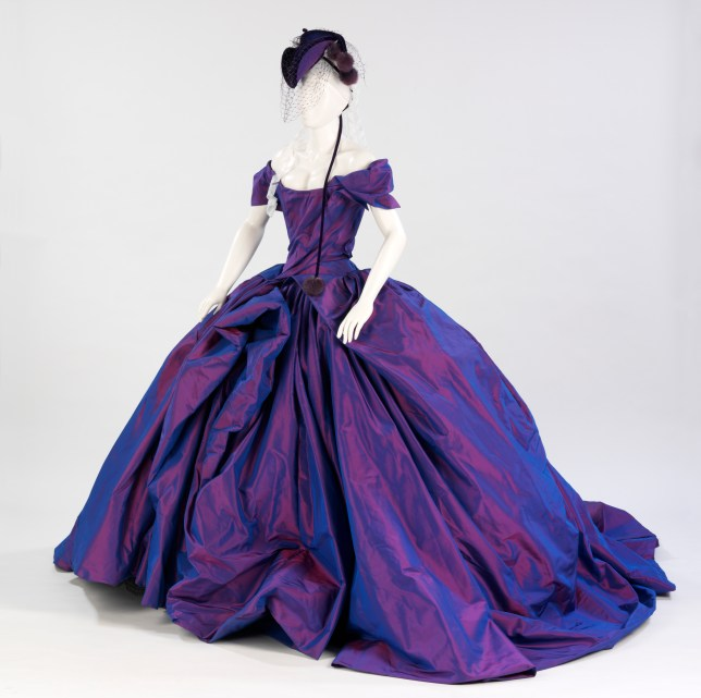 Dita von Teese's Bird of Paradise dress by Vivienne Westwood is one of the more exotic dresses on display (Picture: V&A)