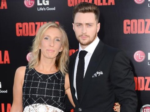 Sam and Aaron Taylor-Johnson's home was raided by armed police over a rifle used for an art project