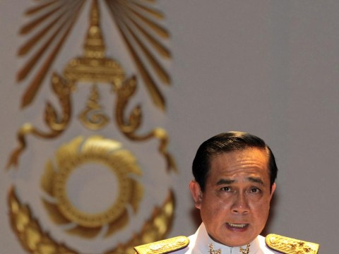 Resistance is futile, says Thai coup chief