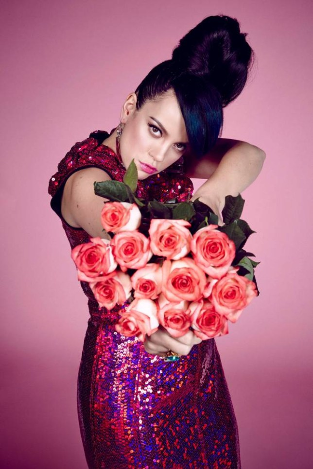 Lily Allen - is she angry or just on her period? (Picture: supplied)