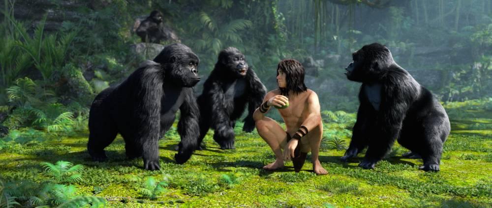 Since when was Tarzan a rubberised zombie?