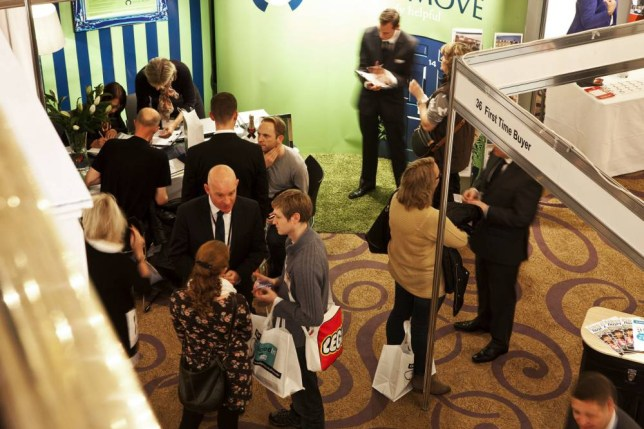 The First Time Buyer Home Show will have delegates from across the home-buying industry (Picture: Claire Collins)