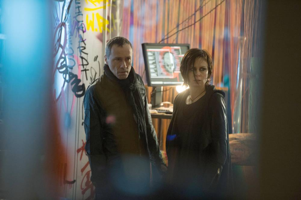 Michael Wincott and Mary Lynn Rajskub in 24: Live Another Day (Picture: Fox)