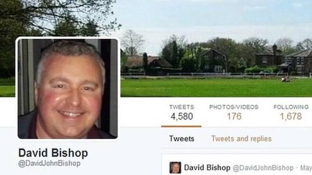 David Bishop, Twitter