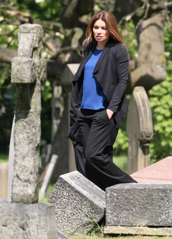 Coronation Street residents gather for Tina McIntyre's funeral – but which one of them killed her?