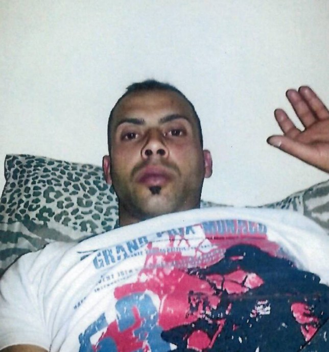 This lounging man will no doubt be less relaxed when he discovered he is wanted by police, after accidentally uploading a selfie taken on a stolen phone. See SWNS stopry SWSELFIE: Hampshire Police would like to speak to this man in connection with the theft of two Samsung mobile phones from a bag in a nightclub in Portsmouth on April 25. A couple of days later, the 21-year-old victim noticed a picture had been taken on her phone, which was set to automatically upload any images to her dropbox account to save memory. A spokesman from Hampshire Police said: ìWe are now investigating photos that appear to have been uploaded from one of these phones, and would like to speak to the man shown in these images.î
