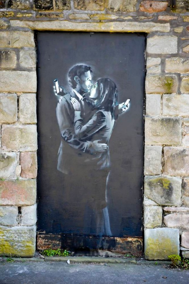Banksy Mobile Lovers letter: Bristol's Broad Plain Boys' Club to keep painting