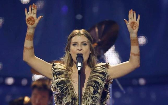 UK Eurovision hopeful Molly goes up against Conchita Wurst,