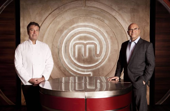 Programme Name: Masterchef - TX: n/a - Episode: n/a (No. n/a) - Picture Shows: (L-R) John Torode, Gregg Wallace - (C) Shine TV - Photographer: Production