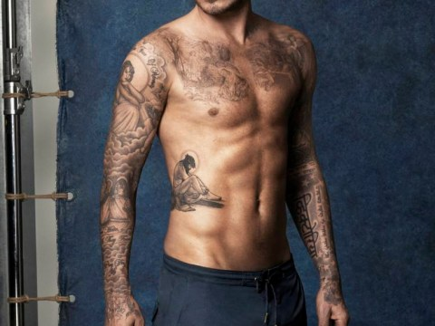 Smalls talk with Golden Balls: David Beckham launches H&M swimwear range