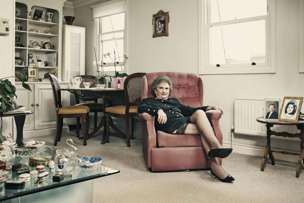 Meet Sheila Vogel-Coupe: Britain's oldest granny prostitute who's still busy with clients at 85