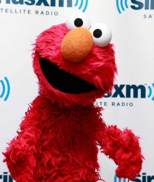 NEW YORK, NY - SEPTEMBER 24:  Elmo visits SiriusXM Studio on September 24, 2012 in New York City.  (Photo by Robin Marchant/Getty Images)