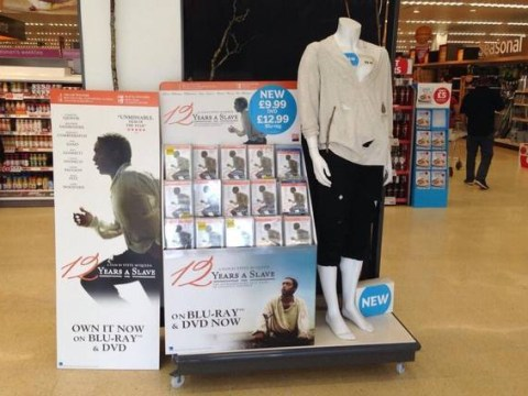 Sainsbury's removes slave mannequin, apologises for 12 Years A Slave promotional stunt