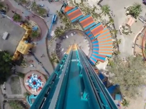Don't look down: Ride that drops you 335 feet headfirst to open to public