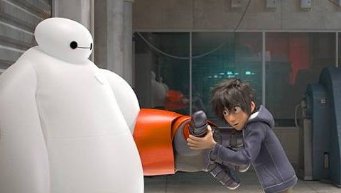 OMG it's the first trailer for Disney's animated Marvel project Big Hero 6