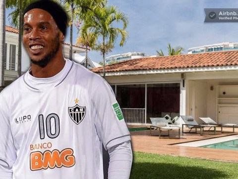 Need a bed during the World Cup? Rent Ronaldinho's house for £9,000-a-night