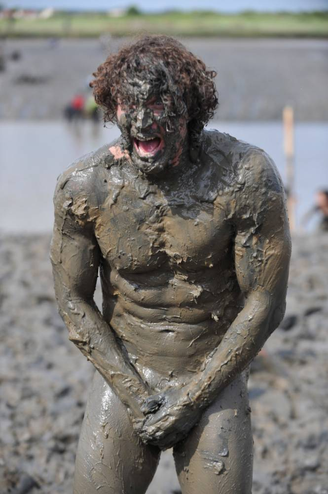 Competitor Joel Hicks, Maldon Mud Race