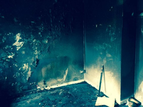 Mother and sons flee flat after e-cigarette explodes