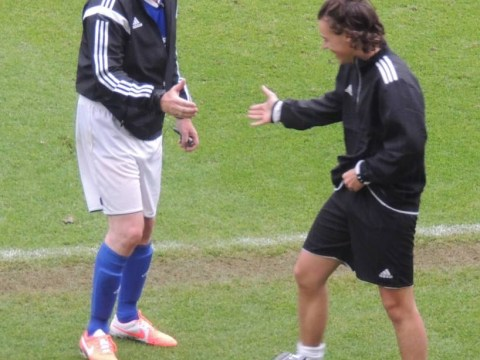 Harry Styles pulls pants down at charity football match… but sorry Directioners, they're Piers Morgan's