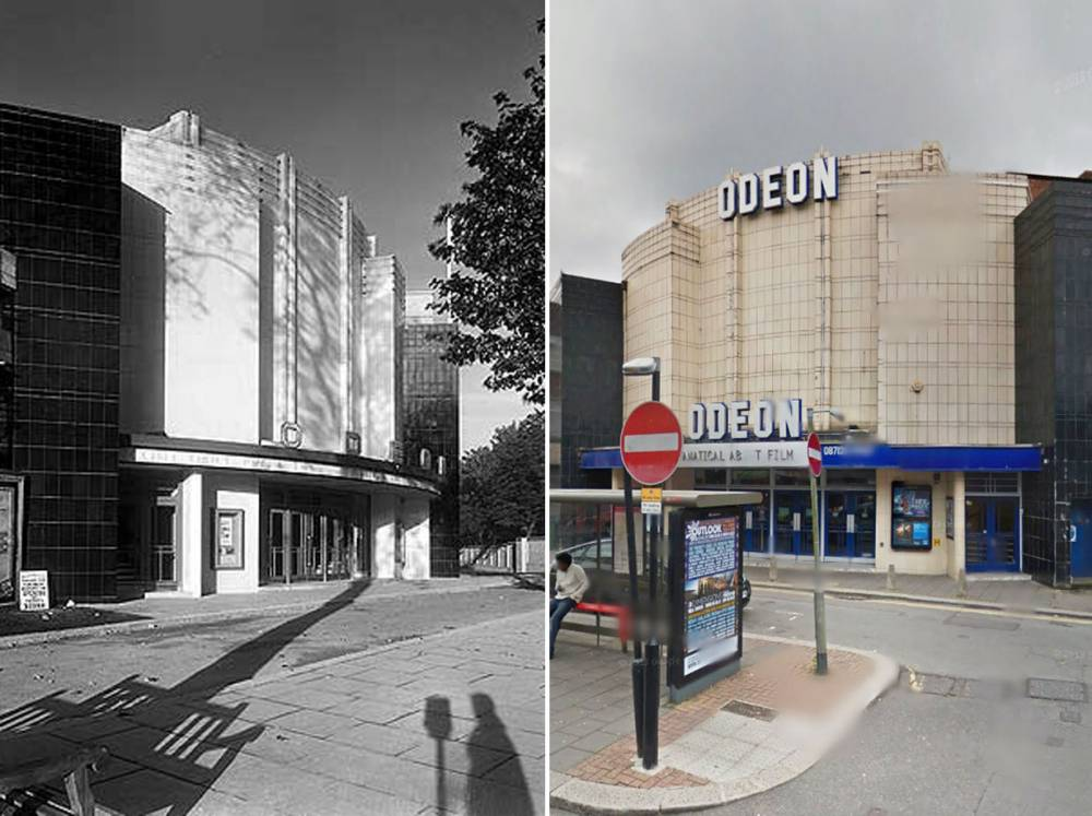 Odeon Cinema, Fortis Green Road, Muswell Hill, London (Picture: englishheritagearchives.org.uk)