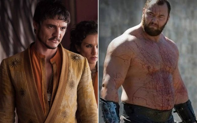 The Red Viper and The Mountain (Picture: Rex/HBO)