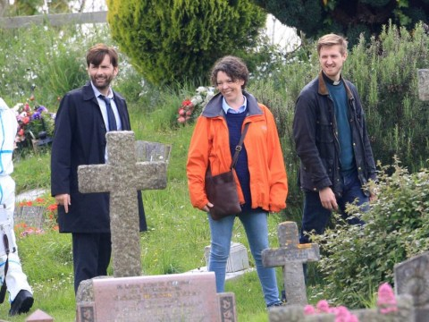 Broadchurch fans get excited: Filming on series two is underway, and here are the photos to prove it