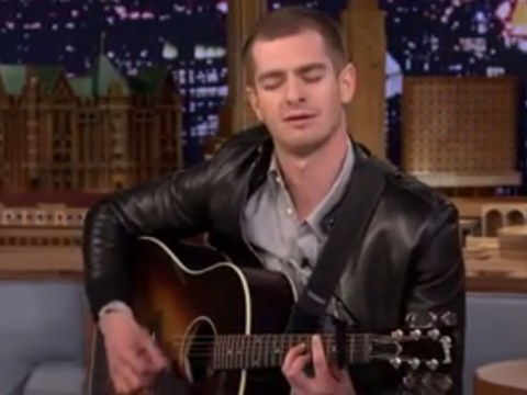 Want to see Andrew Garfield singing the Spider-Man theme? Of course you do