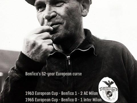 Benfica fail again in Europe – Is club still jinxed by the Bela Guttman curse?