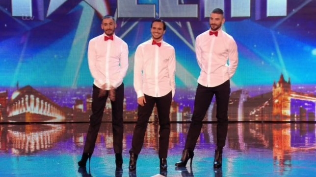 Yanis, Arnaud and Mehdi were viewers' favourites on Britain's Got Talent (Picture: ITV)