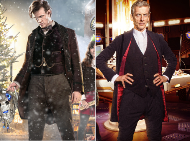 Doctor Who: Matt Smith regenerated into Peter Capaldi
