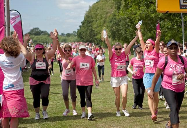 Race for Life women