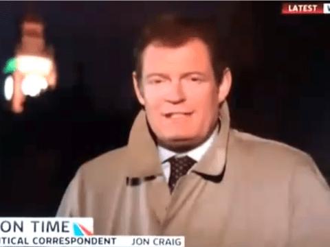 Political reporter drops the F-bomb at Big Ben on live TV