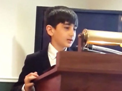 10-year-old's impromptu speech at grandfather's funeral moves attendees to tears