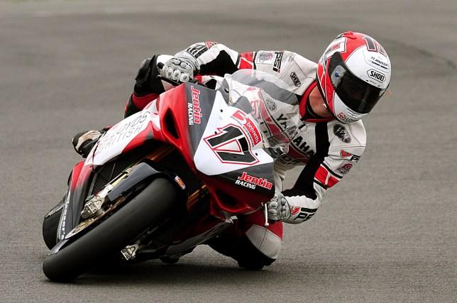 Yamaha's Simon Andrews