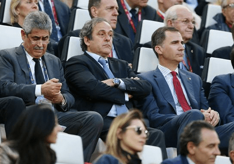 This Michel Platini reaction sums up 'boring' Europa League final