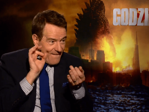 Bryan Cranston offers inspired advice on surviving a Godzilla attack: 'Think what Walter White would do'