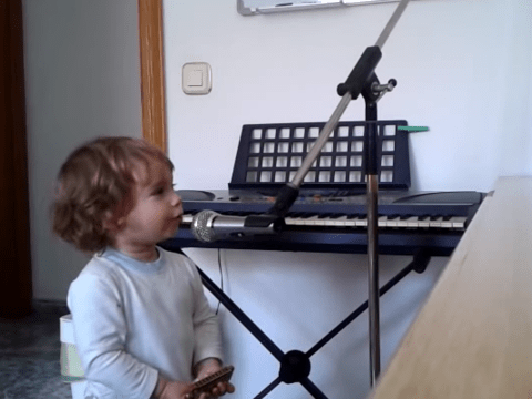 Toddler Luca proves you don't need to be a 'hoochie coochie' man to sing the blues