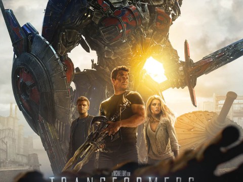 Optimus Prime steals the limelight in newest Transformers: Age Of Extinction poster