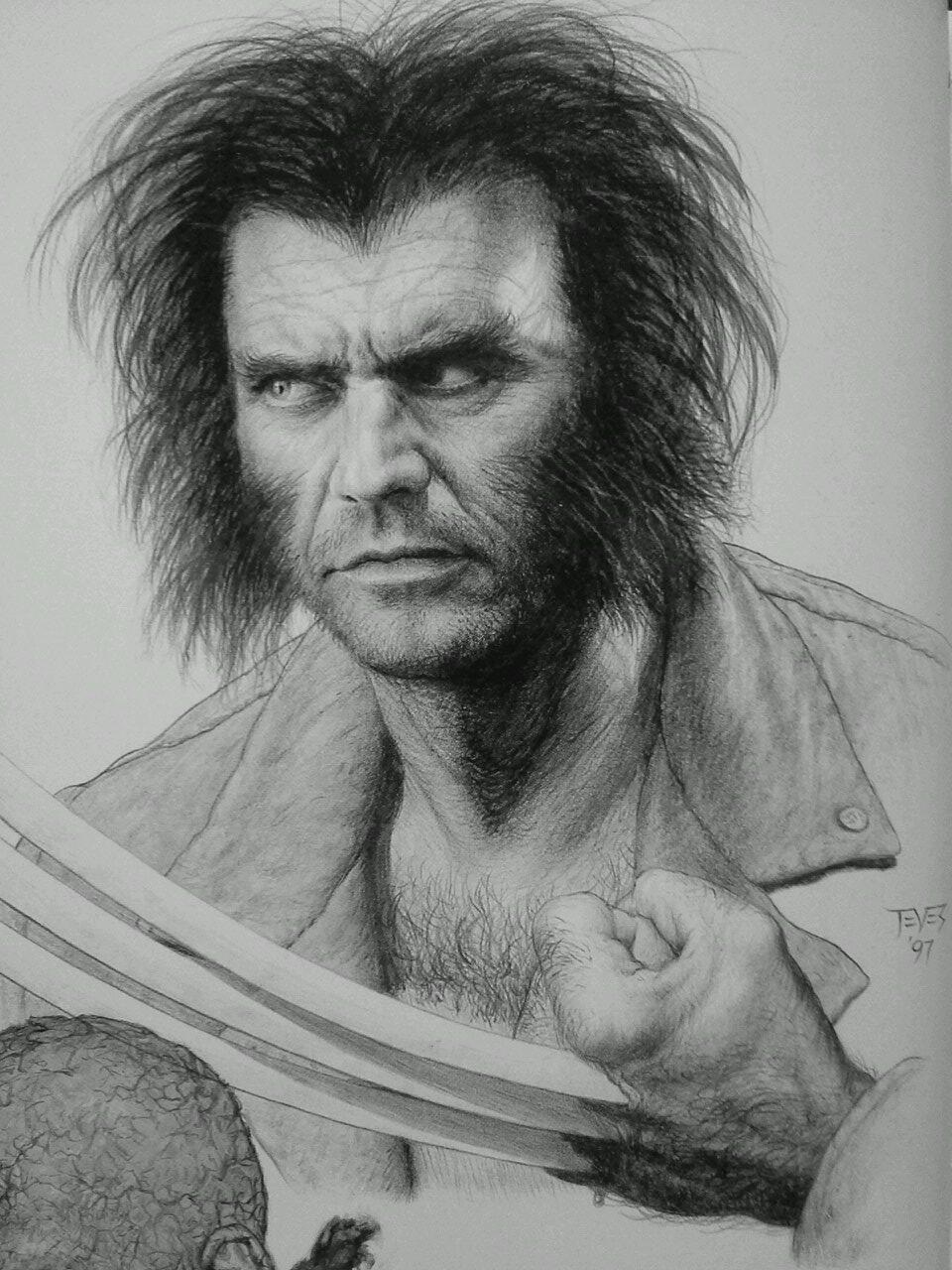 Here's what Mel Gibson would look like as X-Men's Wolverine